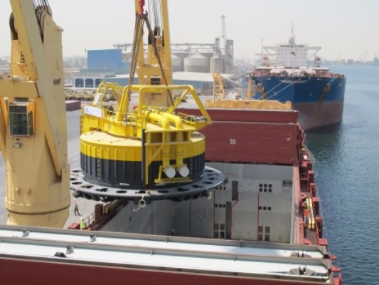 Two new CALM Buoys for Waha Oil Company